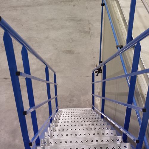 Escalier pour plateforme